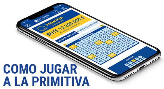 Para jugar a La Primitiva debes marcar 6 números en cada columna.