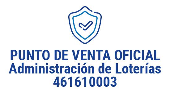 Administración de loterías 461610003 - Punto de venta oficial