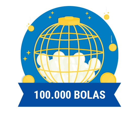 En el bombo de los números se introducen 100.000 bolas