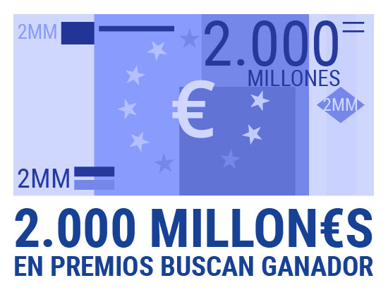 El sorteo de Navidad reparte más de 2.000 Millones de Euros