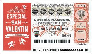 Estas Enamorad Vuelve Lotería De San Valentin Blog Lotería Manises