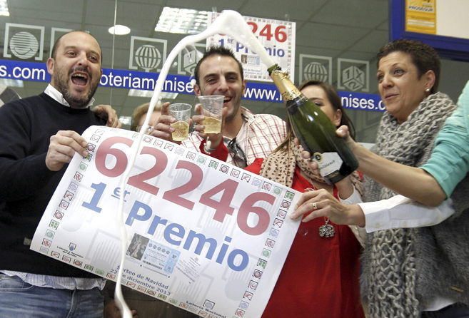 ¿Cómo reaccionamos cuando nos toca la lotería?