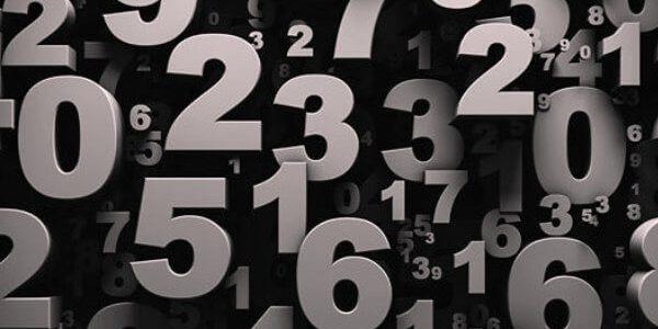 Soñar con números de lotería