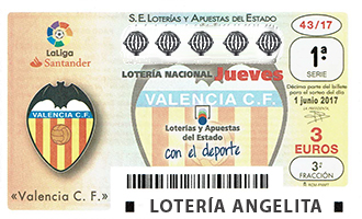 La lotería del Valencia CF