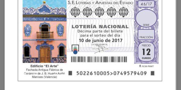 Manises acoge el Sorteo Viajero de la Lotería Nacional