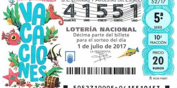 Sorteo Extraordinario de Vacaciones de Lotería Nacional