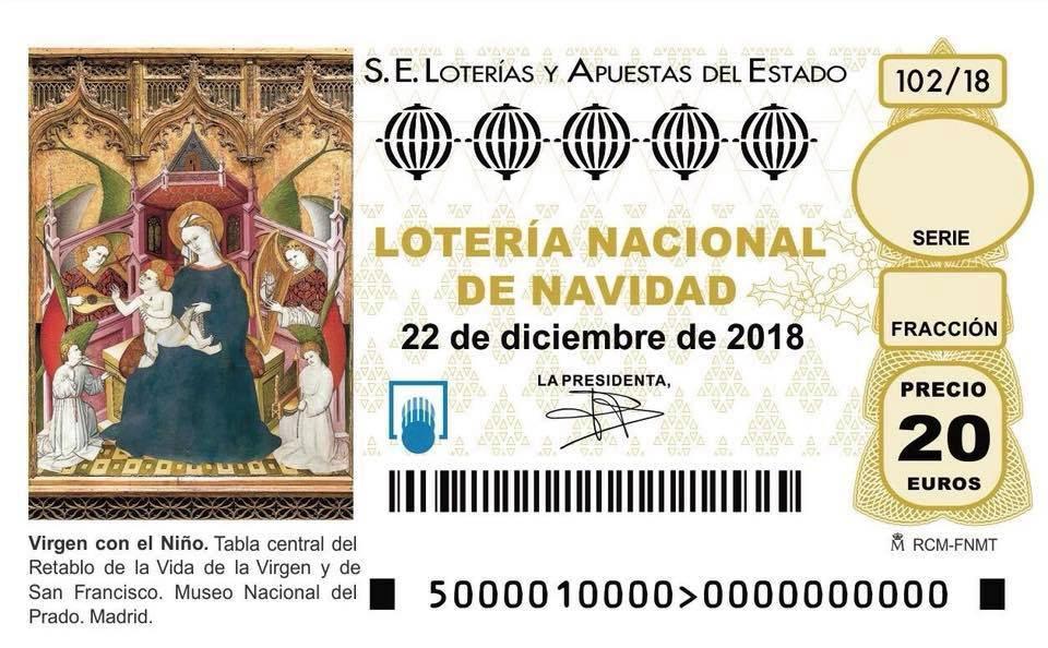 Imagen De Los Décimos De Lotería De Navidad 2018 Blog Lotería Manises