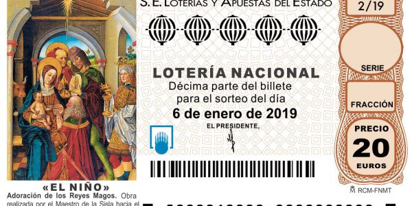 Ya puedes comprar décimos Lotería del Niño 2019